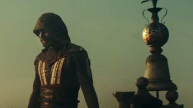 Michael Fassbender in <i>Assassin's Creed</i>