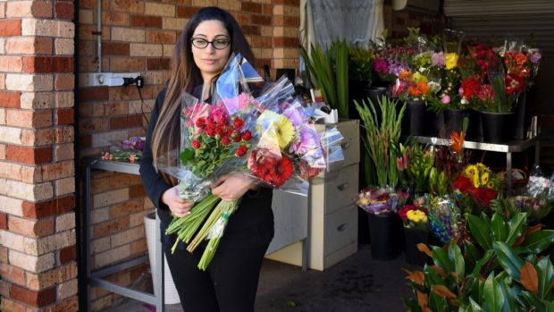 Rita Sakr, owner of Wildrose Florist, says Ready Flowers owes her $22,500. She now works out of her garage.