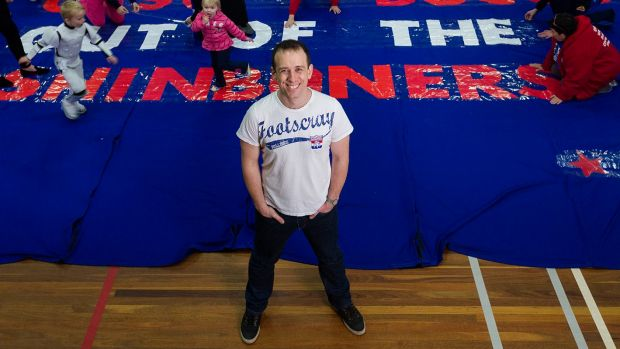 Danny McGinlay: the man who revolutionised footy banners.