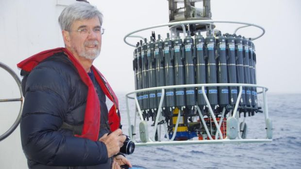 John Church during his current – and probably final – research voyage with CSIRO.