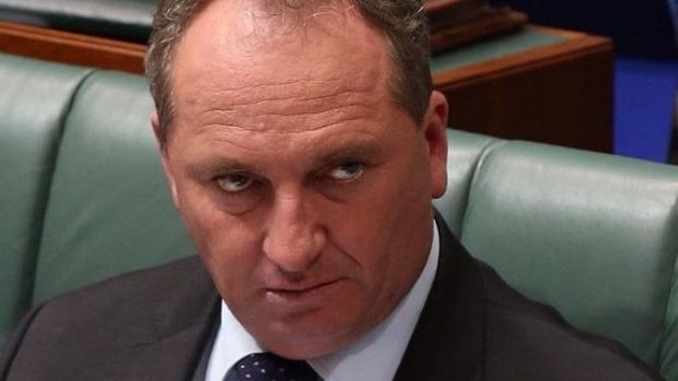 Barnaby Joyce, when pressed to clarify his remarks, said the closing down of the live animal export industry caused ...