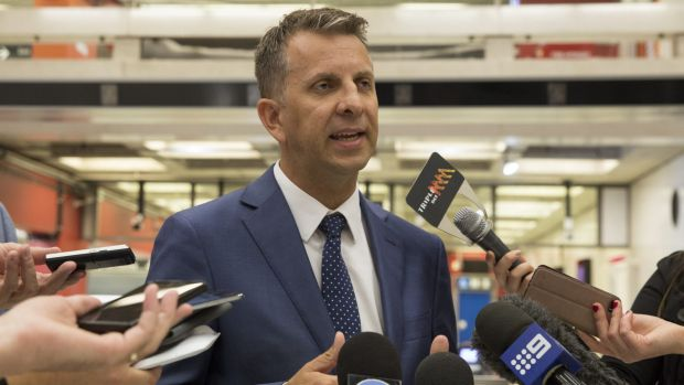 """""""I want to do away with timetables"""": Transport Minister Andrew Constance."""