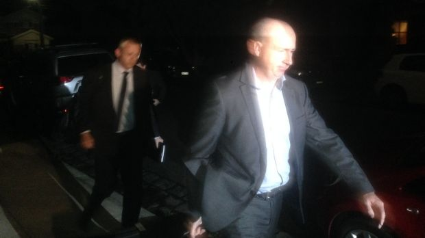 The AFP raid on a Labor staffer's house in Melbourne during the election.