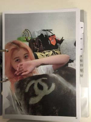 A photo of Christine Jia Xin Lee posing with her handbags and designer cushions was among those tendered in court.