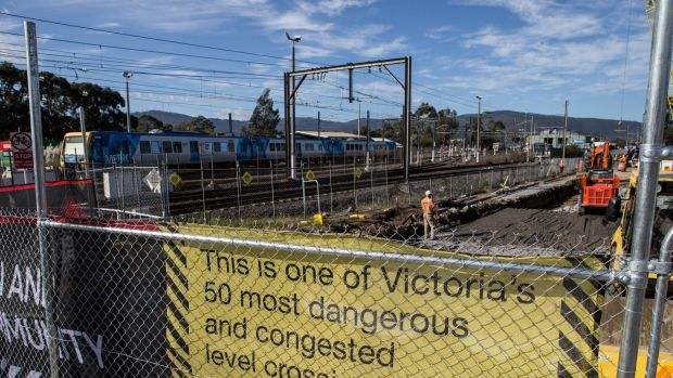 Fifty level crossings are being removed across Melbourne