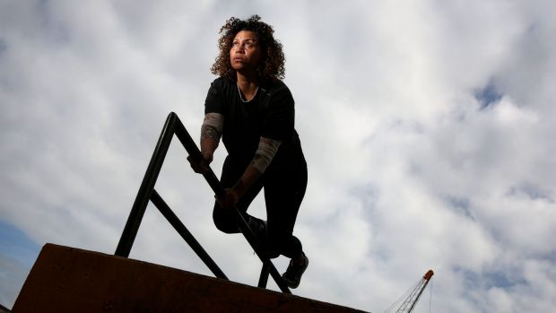 Parkour practitioner and video artist Karen Palmer is among the speakers at TEDx Sydney 2016.