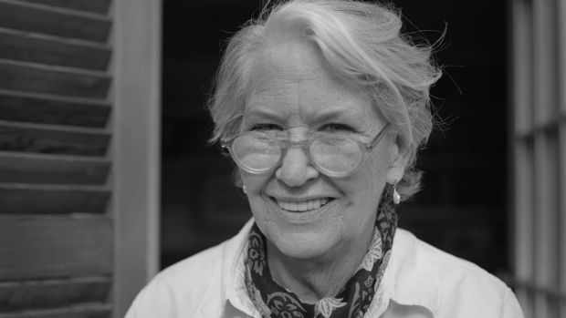 Author Annie Dillard in Key West, Florida.