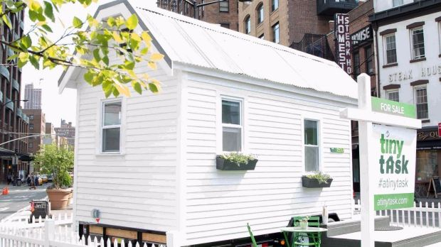 A tiny TaskRabbit house.