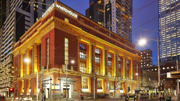 The Mail Exchange building opposite Southern Cross Station at 696 Bourke Street.