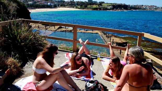 McIver's Baths in Coogee.