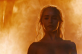 """It was naked, but it was strong"" - Emilia Clarke on Daenerys' fire exit."