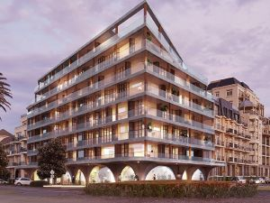 This design for the London Hotel site has been rejected, but planning authorities are likely to support a slightly ...