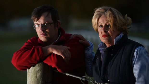 James Hollamby, who is deaf, is unhappy with Tamworth TAFE cutbacks. Pictured with his mother Kate.