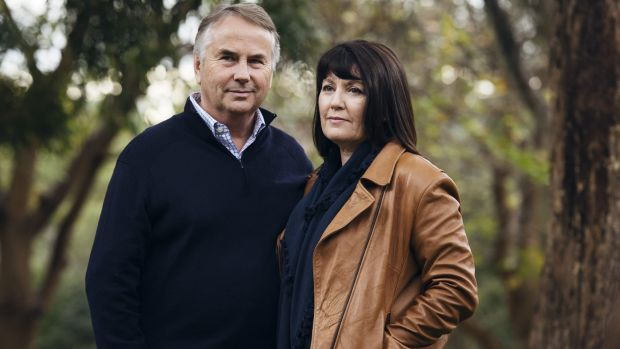 Ralph Kelly with his wife Kathy Kelly, parents of Thomas Kelly, who died in Kings Cross, the victim of a king hit/coward ...
