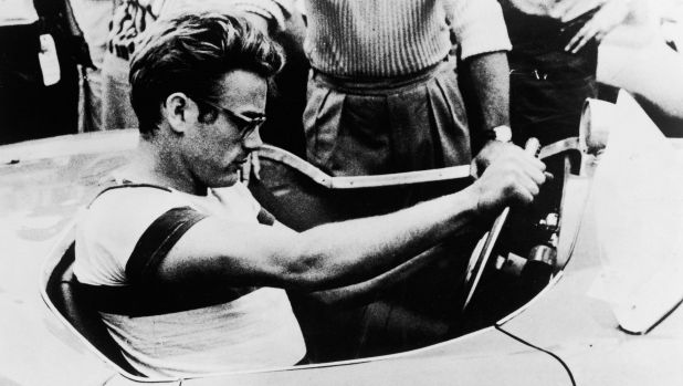 James Dean, pictured in this Warner Brothers still from the documentary movie The James Dean Story, was killed when ...