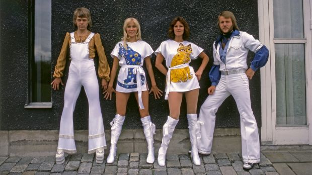 Sweden's Abba in their glory days ... Björn Ulvaeus, Agnetha Fältskog, Anni-Frid Lyngstand and Benny Andersson have come ...