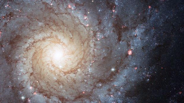The galaxy Messier 74.