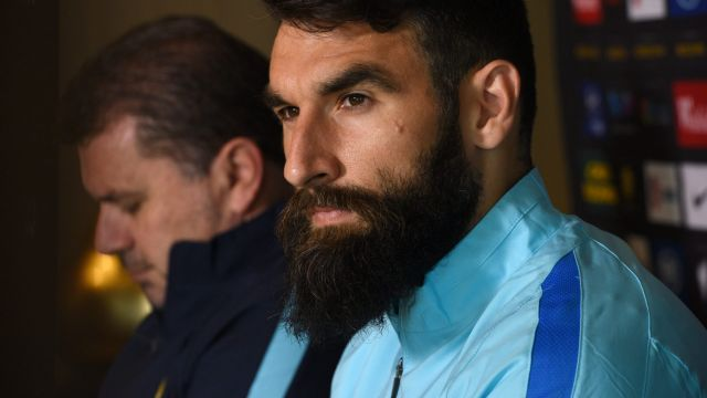 Socceroos coach Ange Postecoglou has not selected Mile Jedinak.