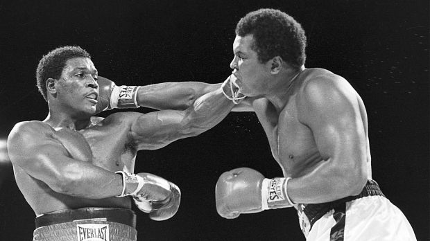 Two too many: Ali's last fight against Trevor Berbick in 1981 ended with a loss by decision in the Bahamas.