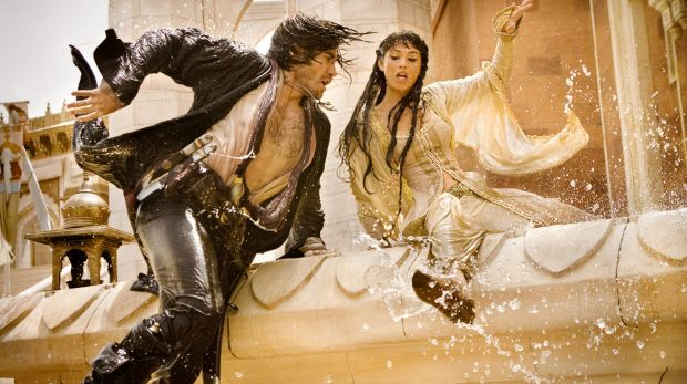 Jake Gyllenhaal and Gemma Arterton in Prince of Persia: The Sands of Time.