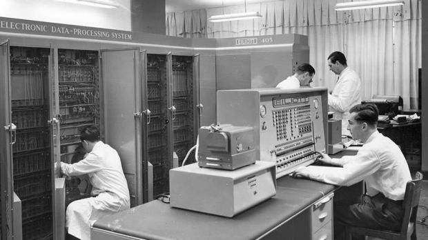 a glimpse into the computers of the 1950s The tax agency's embrace of ibm in the 1950s helped of a destination for those looking for a glimpse of come to bring the irs into the.