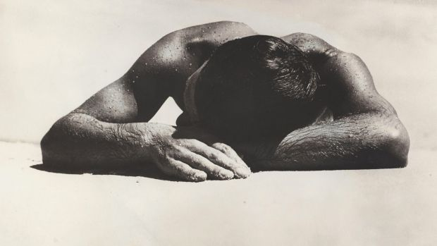 Max Dupain's 'Sunbaker', taken at Culburra Beach on the NSW south coast in 1937.