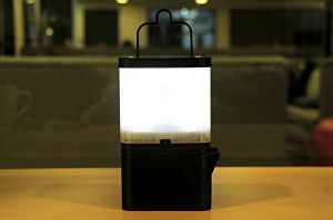 Impact Journalism Day: The SALt lamp uses a mixture of salt  and water to energise a light-emitting diode (LED).