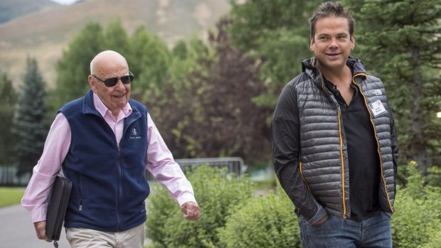 Lachlan Murdoch played a leading role in negotiating Ailes's departure. Rupert Murdoch assumed the role of chairman and ...
