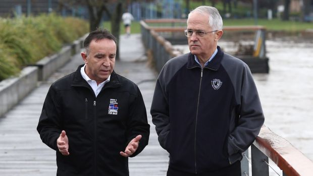 Ousted Liberal MP Andrew Nikolic, pictured with Prime Minister Malcolm Turnbull, has said a campaign by GetUp! has cost ...