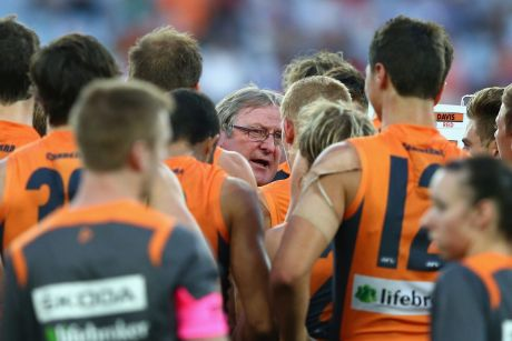 Whingers and sooks: Inaugural GWS Giants coach Kevin Sheedy has lashed out at critics of his former club's success.