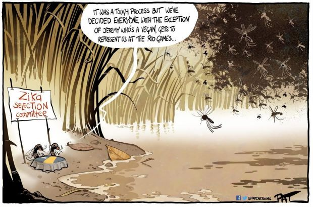 Canberra Times editorial cartoon for Monday, June 13, 2016.