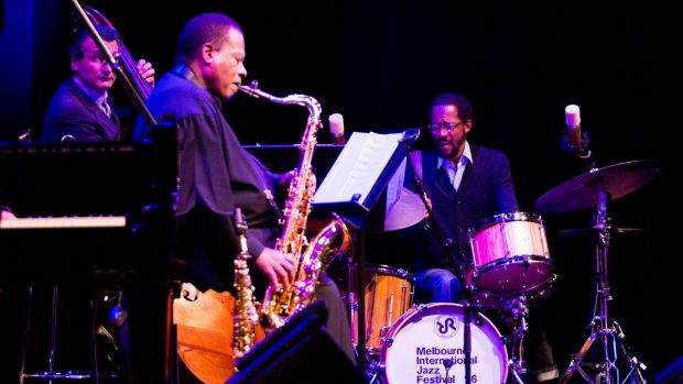 The Wayne Shorter Quartet performs the final show at the Melbourne International Jazz Festival.