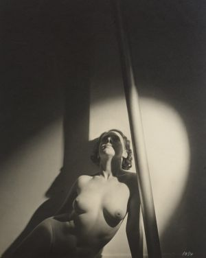 Nude and Pole.