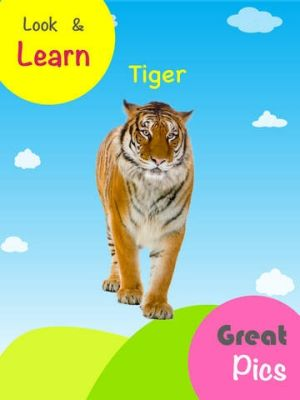 Anvitha's app helps young children learn animal names.