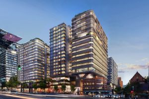 Artist impression of the new $150m Four Points by Sheraton Sydney, Central Park