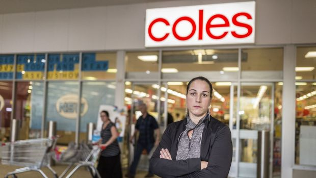 Coles supermarket employee Penny Vickers says the settlement will be an 'excellent outcome'.