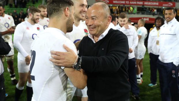 Keen to keep up the intensity: Eddie Jones.