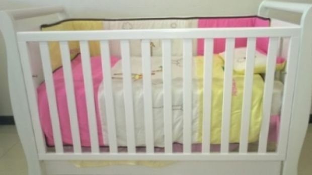 The 3 in 1 Wooden Sleigh Cot, sold by Online Dealz, which failed to meet safety standards.