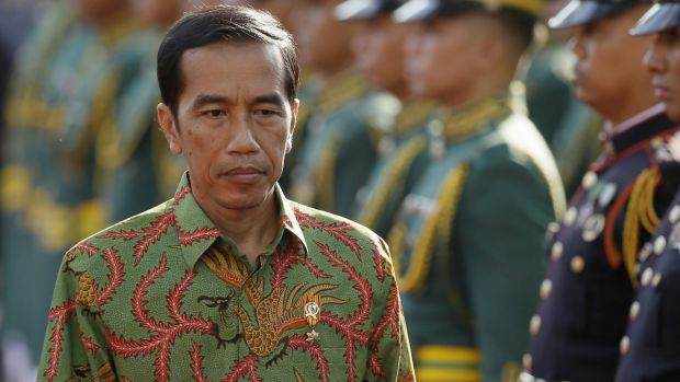 Indonesian President Joko Widodo on a visit to the Philippines last year.