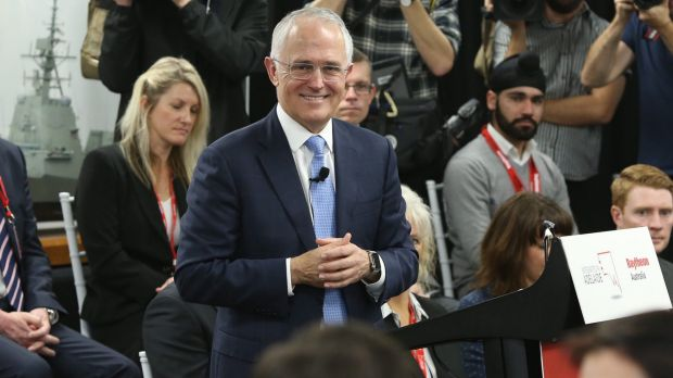 Malcolm Turnbull visiting Adelaide on Monday.