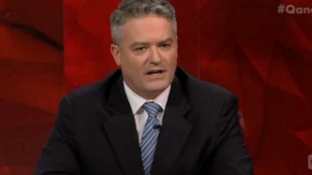 Finance minister Mathias Cormann said the Liberals have acted by giving additional resources to the banking regulator.