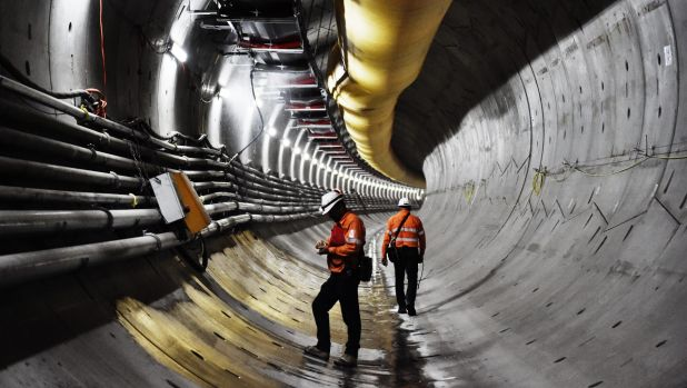 Under the group's plans, half of the 26-kilometre line from Central to Westmead would be tunnel.
