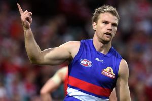 Bulldog Jake Stringer was surprised when the club told him he would be up for trade.