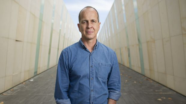 Journalist Peter Greste in Canberra in 2015