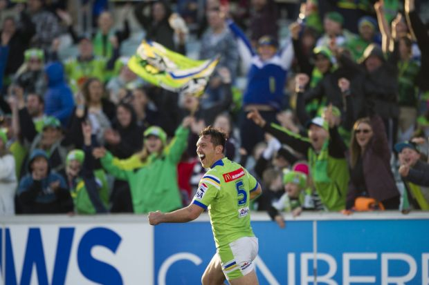 It's time to make Canberra Stadium the  Raiders' fortress again.