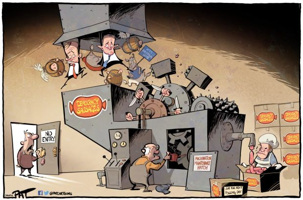 The Canberra Times editorial cartoon for Monday, July 4