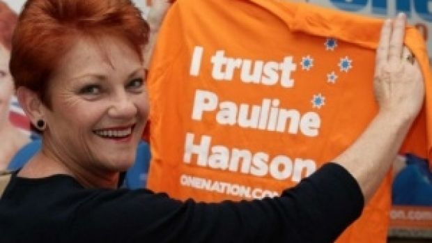 Pauline Hanson has garnered significant Senate support in NSW, especially in the closest Coalition-held seats in ...