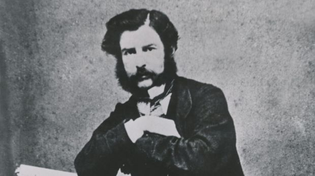 Samuel Thomas Gill (S.T. Gill) in the 1870s.