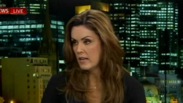 Peta Credlin on the Bolt Report during the 2016 election.