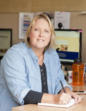 """""""Virtual' executive assistant Ingrid Bayer works remotely for six clients across Australia."""